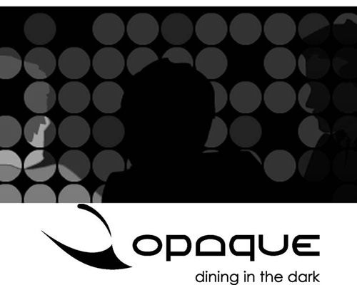 Fine Dining In Total Darkness at Opaque in LA