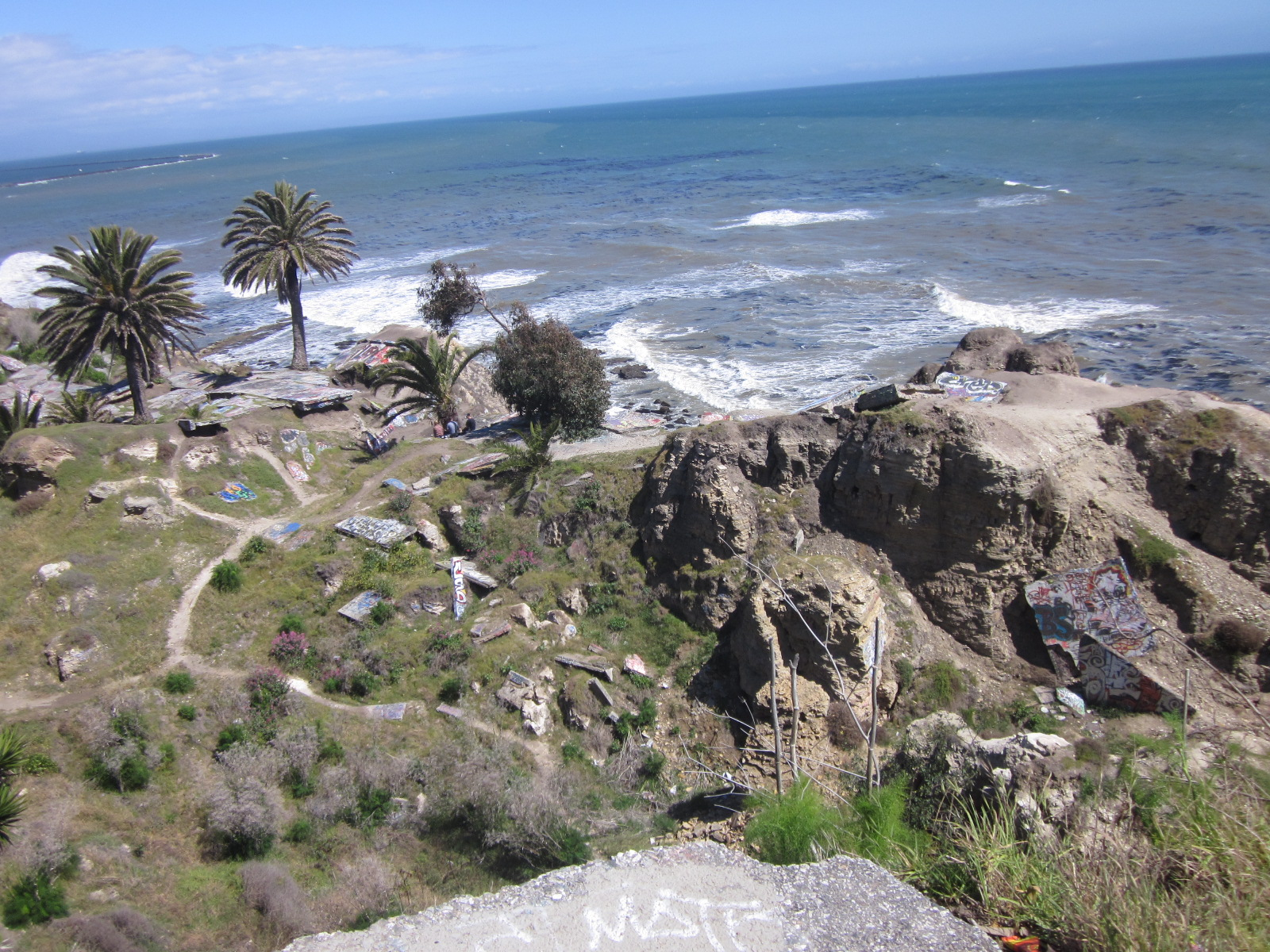 Sunken City: the place where you're not supposed to hike