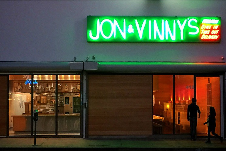 On the Radar: Jon and Vinny's on Fairfax