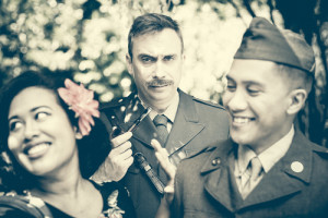 Much Ado About Nothing by Shakespeare, set in 1945