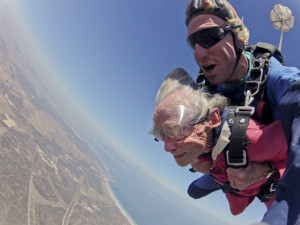 Skydive Coastal California will make you as cool as her