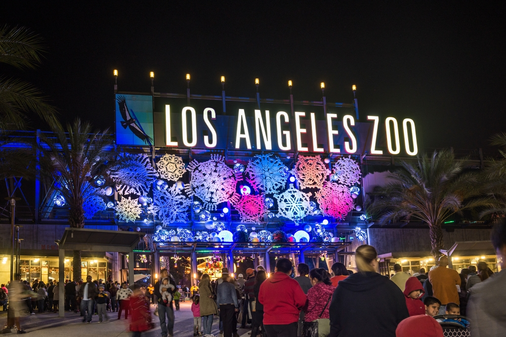 Winter Wonderland at the LA Zoo