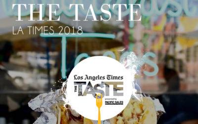 Los Angeles Times – The Taste 2018